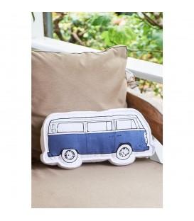 RM - The Bulli Box Pillow blue