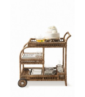 Rivièra Maison - Rustic Rattan High Tea Trolley