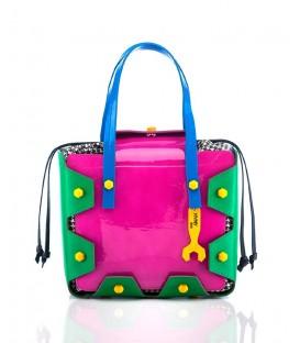 HYMY Bag Crazy Line - Nr. 1 VERNICE FUXIA