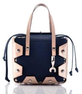 HYMY Bag Cambridge Line - Nr.1 Camel Blue
