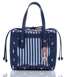 HYMY Bag GLASS Line - Nr. 2 Circus Blue