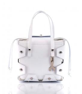 HYMY Bag CLEO Line - Nr. 2. White Bianco