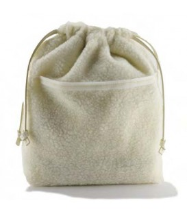 HYMY Bag POCHETTE Cotton - Cotton White Bianco