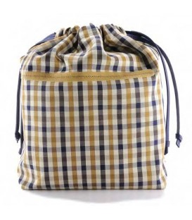 HYMY Bag POCHETTE Cotton - Cotton Cambridge