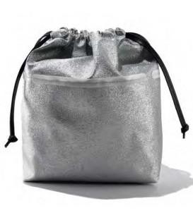 HYMY Bag POCHETTE Glitter - Glitter Silver Argento
