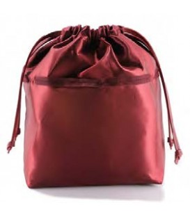 HYMY Bag POCHETTE Satin - Satin Ruby Red Rubino