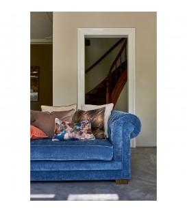 Rivieria Maison - Crescent Avenue Sofa 2,5 seater, velvet, indigo