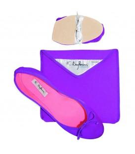 Bagllerina - Acquafeet Bi-Colors - Pink / Purple