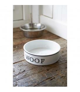 Riviera Maison - Woof Doggie Bowl - L