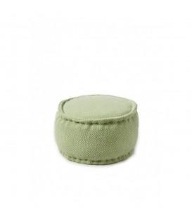 Riviera Maison - Casablanca Pouf 50 diameter, green