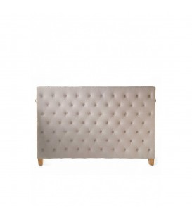 Riviera Maison - Union Square Headboard Double, linen, flax