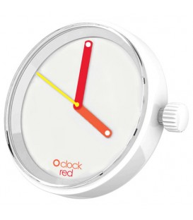 O clock dial - Red Hands