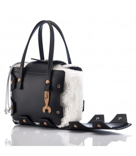 HYMY Bag MERINOS Line - Nr. 1 Black Nero