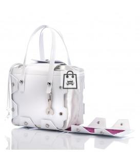 HYMY Bag BOAZ - White Lac
