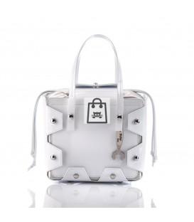 HYMY Bag BOAZ Line - Nr. 2 White Bianco