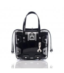 HYMY Bag BOAZ GLITTER LINE - Black
