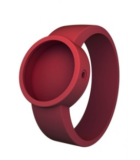 O clock strap - Ruby Red