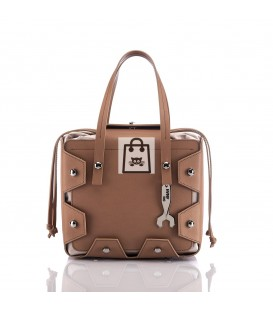 HYMY Bag CLEO Line - Camel Brown