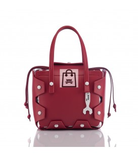 HYMY Bag BUBBLES LINE - Nr. 3 Red Rosso