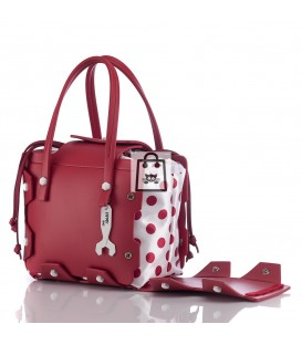 HYMY Bag BUBBLES - Red