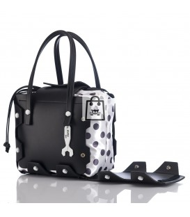 HYMY Bag BUBBLES Line - Nr. 1 Black Nero
