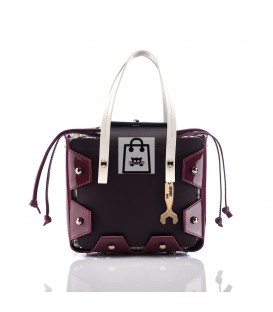 HYMY Bag LONDON Abbey - Marrone