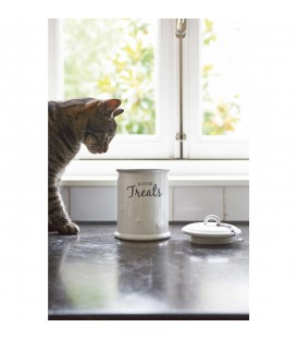 Riviera Maison - Kittie Treats Storage Jar for Cats