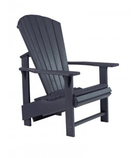 C.R. Plastic Products - Upright Adirondack C03 - Black