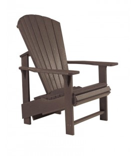 C.R. Plastic Products - Upright Adirondack C03 - Chocolate