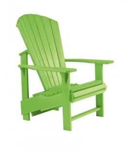 C.R. Plastic Products - Upright Adirondack C03 - Kiwi Lime