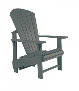 C.R. Plastic Products - Upright Adirondack C03 - Slate Grey