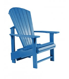 C.R. Plastic Products - Upright Adirondack C03 - Blue