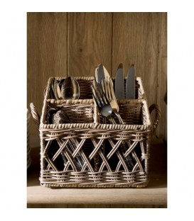 RM Rustic Rattan Couvert Basket Square