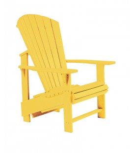 C.R. Plastic Products - Upright Adirondack C03 - Yellow