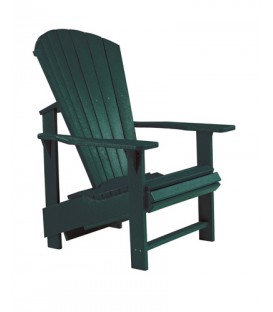C.R. Plastic Products - Upright Adirondack C03 - Green