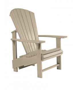 C.R. Plastic Products - Upright Adirondack C03 - Beige