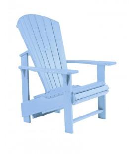 C.R. Plastic Products - Upright Adirondack C03 - Sky Blue