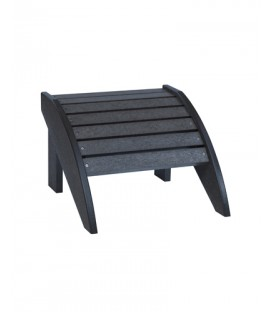 C.R. Plastic Products - Footstool F01 - Black