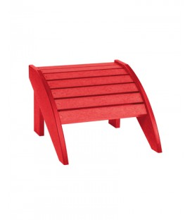 C.R. Plastic Products - Footstool - F01 - Red