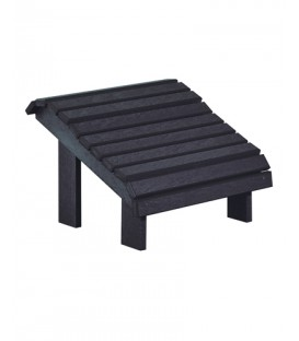 C.R. Plastic Products - Premium Footstool - F04- Black