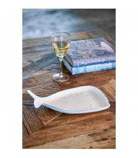 Riviera Maison - Blue Whale Plate